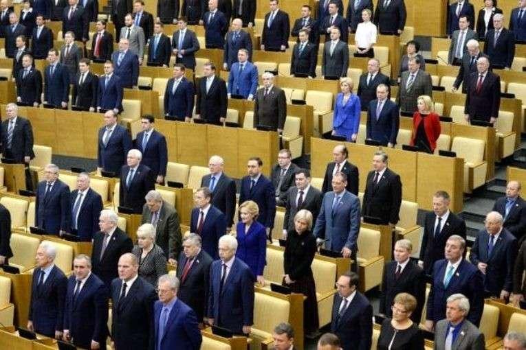 Депутаты Госдумы испугались публикаций о своих миллионных доходах