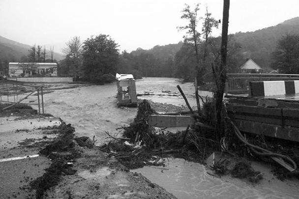 Последствия потопа в Краснодарском крае