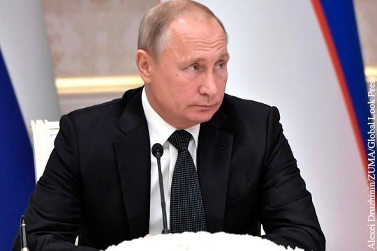 Путин поручил оказать помощь пострадавшим при наводнении на Кубани