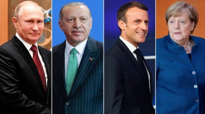 Стамбульский саммит: России, Турции, Германии и Франции согласовываю позиции по Сирии