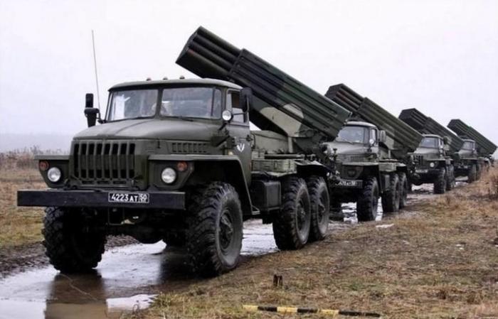 15 новых РСЗО «Торнадо-Г» поступили мотострелкам вСамарской области
