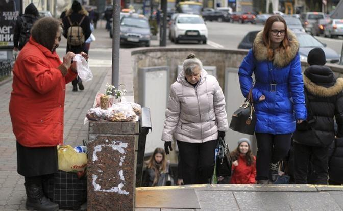 На Украине голод побеждает пропагаду