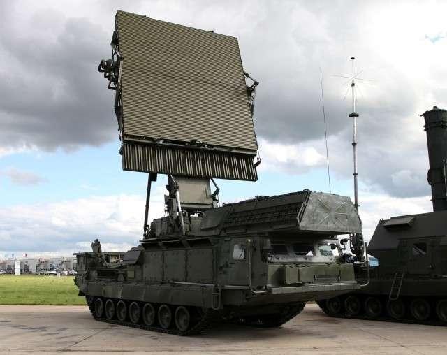 РЛС КО 9С15М «Обзор-3» для ЗРК С-300В