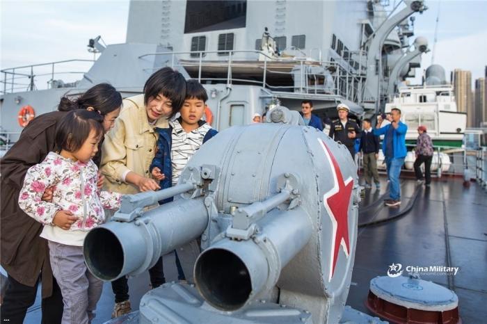 Корабли Тихоокеанского флота России посетили Китай с визитом дружбы