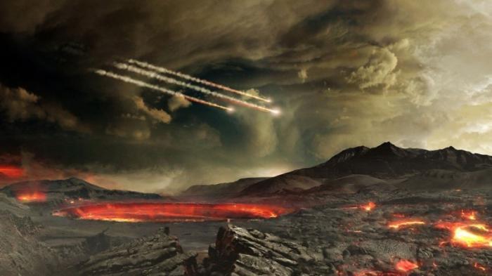 Жизнь возникла ещё на расплавленной Земле