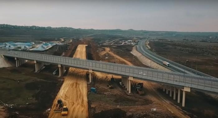 Как в Керчи строится железнодорожный подход кКрымскому мосту