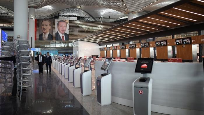 Турция. В Стамбуле Эрдоган открыл самый крупный аэропорт в мире