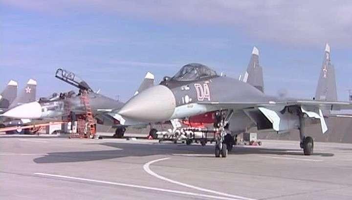 Пилоты модернизированного Су-35 способны остановить самолёт в воздухе