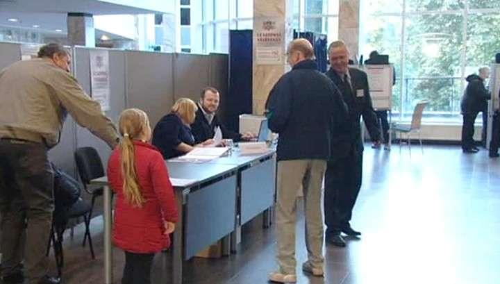 На выборах в Латвии лидирует русскоязычная партия «Согласие»