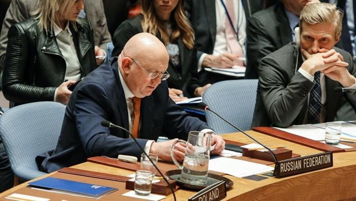 Небензя процитировал Пушкина на заседании Совбеза ООН