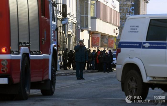 Архангельск. Взрыв у ФСБ как «подарок» на хэллоуин