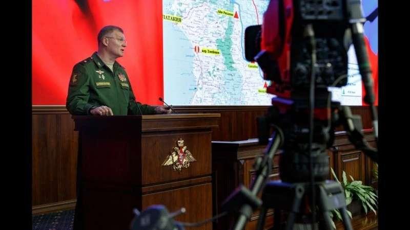 Ситуация в Сирии – брифинг официального представителя Минобороны России