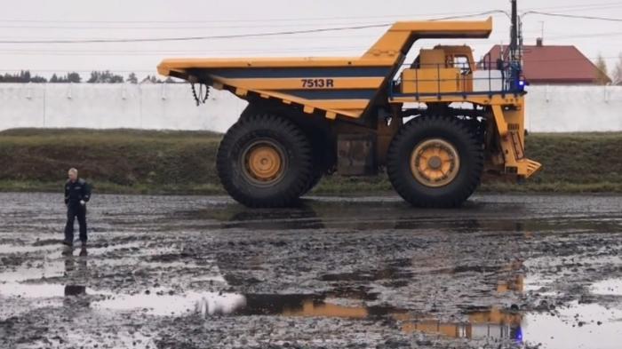 В Белоруссии БелАЗ показал 130-тонные самосвалы с искусственным интеллектом
