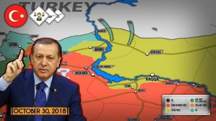 Сирия. Эрдоган объявил о готовности к наступлению на курдов