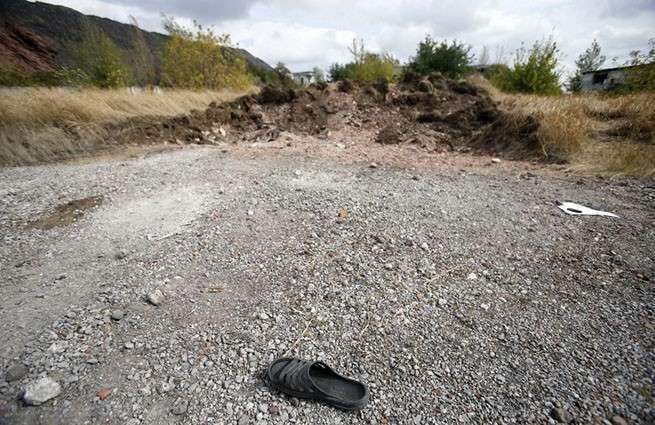 В ДНР обнаружили захоронение жертв украинских десантников
