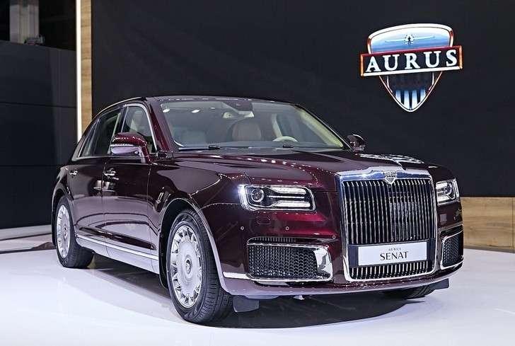 Автомобили Aurus проданы надва года вперед