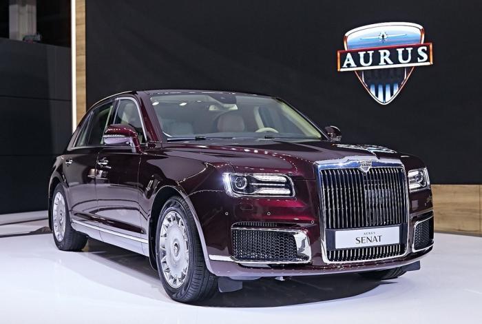 Автомобили Aurus проекта «Кортеж» проданы надва года вперед