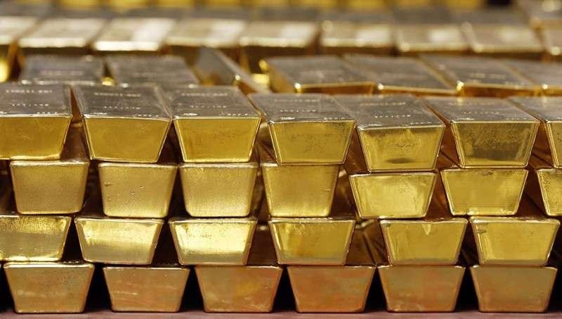 Рекордное количество золота приобрёл Центробанк России
