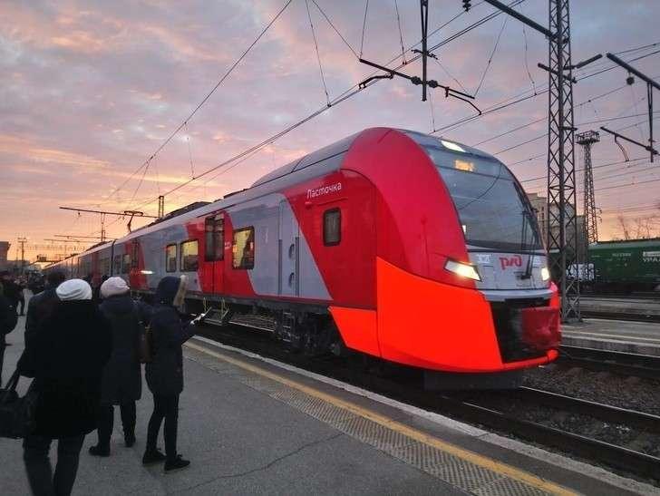 ВПермском крае начали курсировать два поезда «Ласточка»
