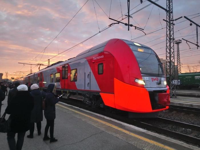 Пермь. Два поезда «Ласточка» начали курсировать