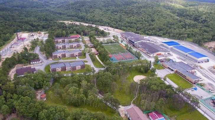 НаСахалине открыли круглогодичную спортивную базу