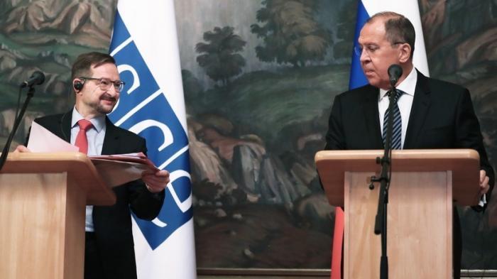 Лавров привлёк внимание Генсека ОБСЕ к репрессиям против Кирилла Вышинского