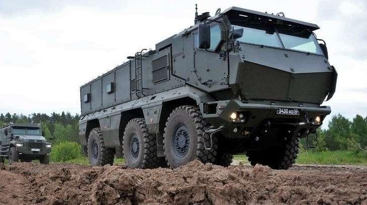 В3-м ЦНИИ Минобороны завершились комплексные испытания защищенных автомобилей «Тайфун»