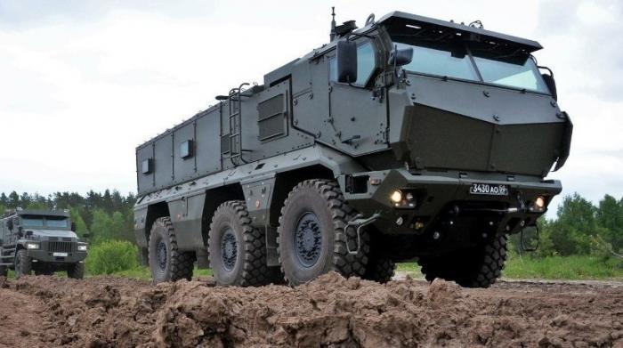 Минобороны завершил комплексные испытания бронеавтомобилей «Тайфун»
