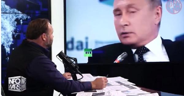 Алекс Джонс: когда Путин говорит о Рае и Аде, ты понимаешь, что всё это серьезно