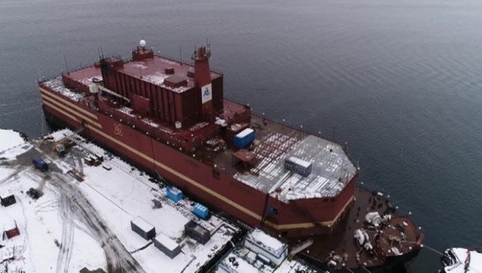 Плавучий атомный реактор «Академик Ломоносов» заработал