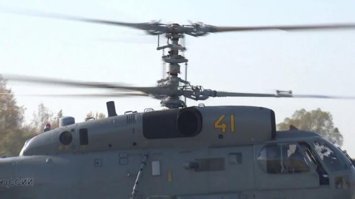 В Калининградской области опробовали модернизированные противолодочные вертолёты Ка-27М