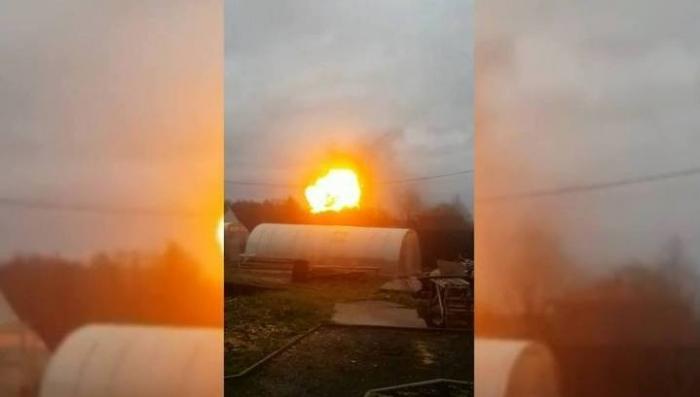 Огненный гриб: под Петрозаводском в доме прогремел мощный взрыв