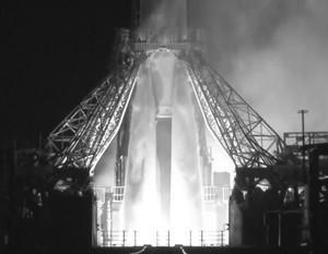 С космодрома Плесецк стартовала ракета со спутником «Глонасс-М»