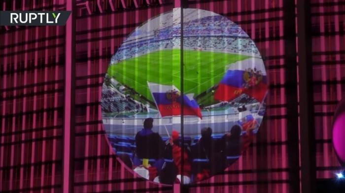 В Петербурге открылся Фестиваль света, посвящённый космосу, истории и спорту