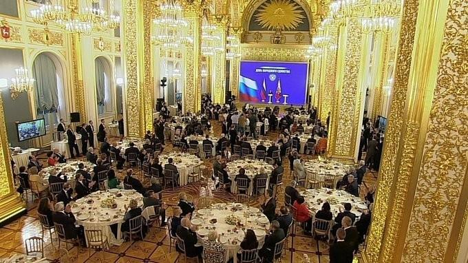 Владимир Путин вручил государственные награды по случаю Дня народного единства