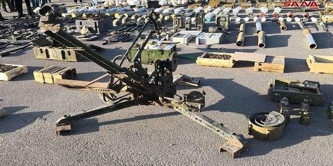 В Сирии обнаружили огромные тайные склады оружия и автомобилей из Израиля