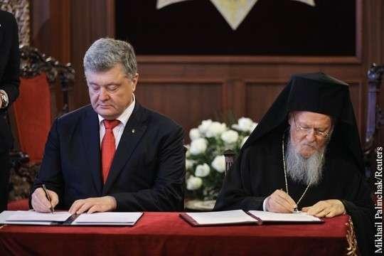 РПЦ готовится свергать Порошенко в ответ на церковный раскол
