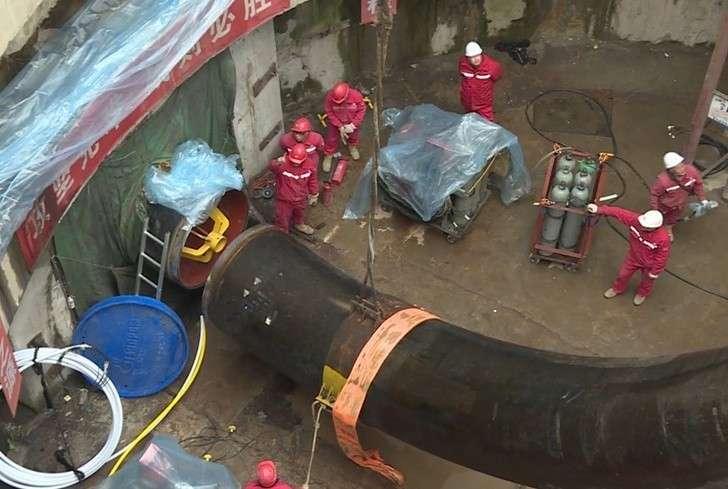 Строительство подводной части газопровода изРоссии вКитай завершено раньше срока