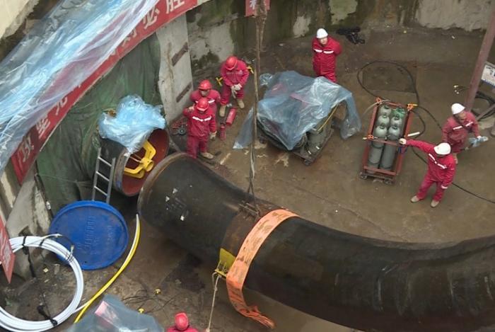 Подводная часть газопровода изРоссии вКитай построена раньше срока