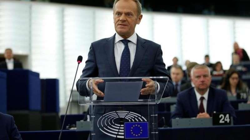 Глава Европейского совета Дональд Глава Европейского совета Дональд Туск заявил о возможном выходе Польши из ЕС
