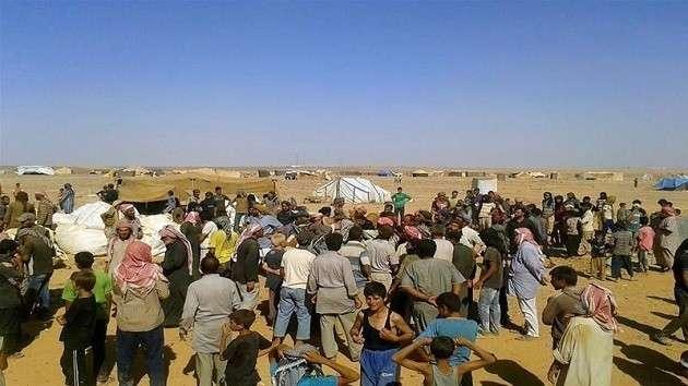В Сирии боевики смогли получить помощь ООН