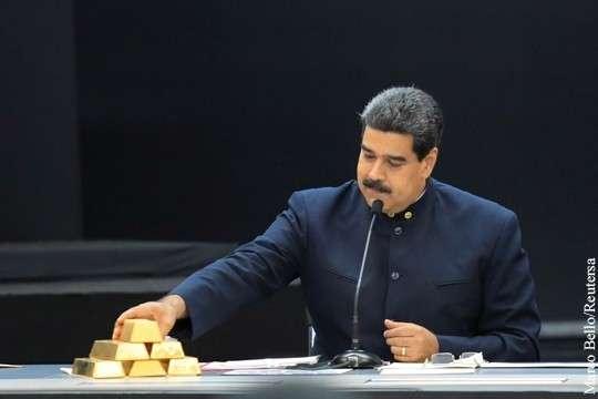 Отказ Лондона возвращать золото Венесуэлы угрожает интересам России