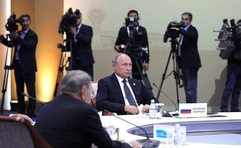 Назаседании Совета коллективной безопасности ОДКБ вузком составе.