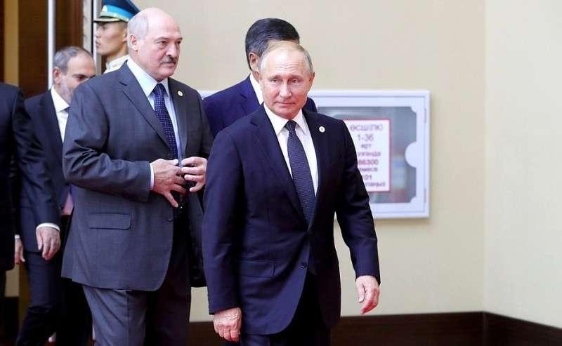 Перед началом заседания Совета коллективной безопасности ОДКБ.