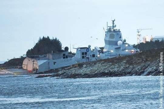 Как норвежский фрегат «потопил» самые масштабные учения НАТО на Севере