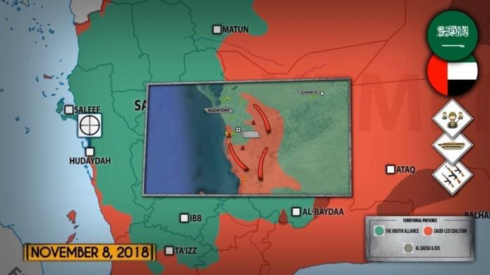 Война в Йемене. Хуситы наступают на саудитов в Ходейде