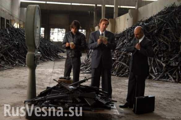 На Украине обнаружили 5тонн оружия готовых котправке вцентральные области