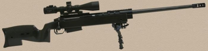 В России создали по-настоящему бесшумную снайперскую винтовку