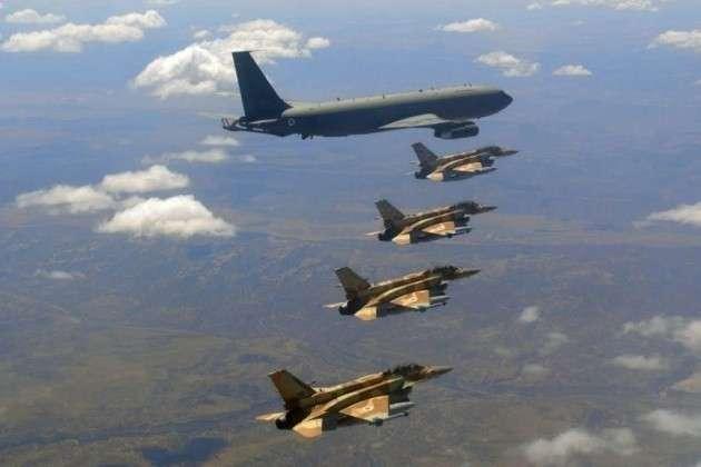 ВВС США и Израиля