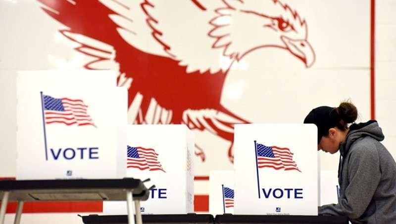 Распад США. В победили две Партии ненависти к России